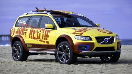 2007 Volvo XC70 Concept - Surf Rescue - Surf, Volvo, Car, Rescue, XC70, Emergency, Concept
