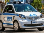 2017 Smart Fortwo - Police Car NYPD