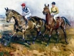 Millhouse and Arkle - Horses