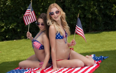 Celebrate. The 4th - Models, Usa, Bikinis, Babes