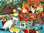 Picnic Kittens - Cats F