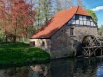 Watermill in Germany