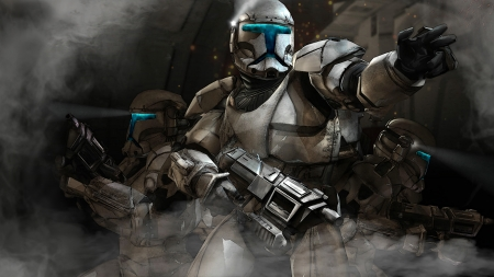 Star Wars Republic Commandos Hd 16x9 Wallpaper Movies Entertainment Background Wallpapers On Desktop Nexus Image 2277301