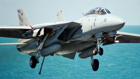 Grumman F-14 Tomcat - Military & Aircraft Background
