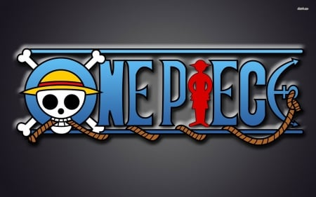 one piece - one, piece, rope, skull