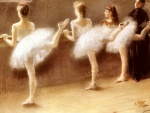 At The Barre - Dance