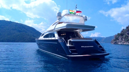 Private vacation luxury Fedorova Water yacht - cruise, water, Fredorova Water yacht, luxury yacht, Private vacation yacht