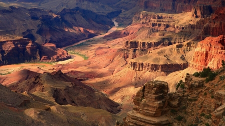 canyon - fun, desert, cool, canyon, mountains, nature