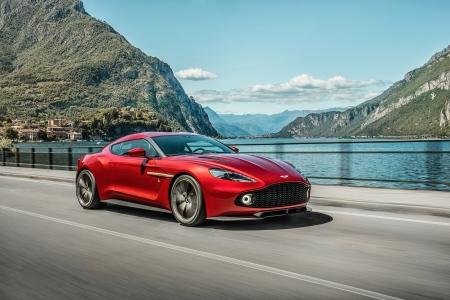 Aston Martin Vanquish Zagato Aston Martin Cars Background