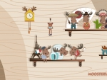 Moose Toy Collection Wallpaper