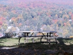 Autumn Picnic Table