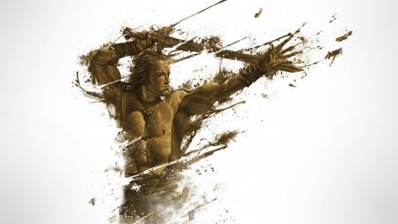 Conan The Barbarian Fantasy Abstract Background