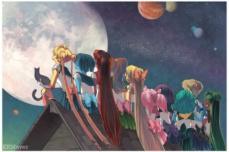 Sailor Moon - Princess, Anime, Sailor Moon, Sailor Scouts