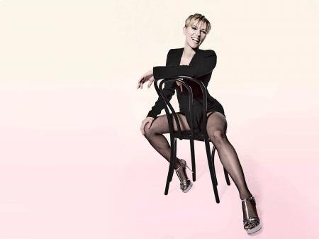 Johansson stockings scarlett Scarlett Johansson