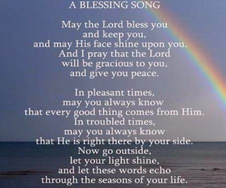 A Blessing Song - Colorful, Nature, Rainbows, Blessing, Song