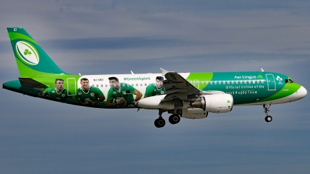 Airbus A320-214 Aer Lingus - Airlines, A320-214, Plane, Airbus, Aer Lingus
