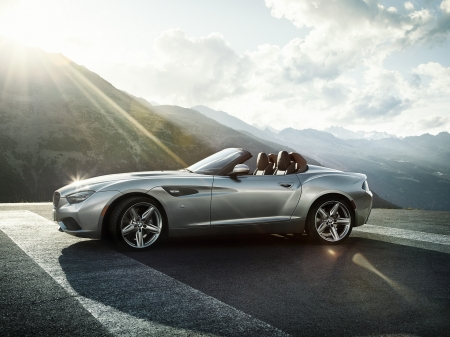 Bmw Zagato Roadster Concept Bmw Cars Background Wallpapers On