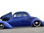 Very Blue 1936 Ford Coupe