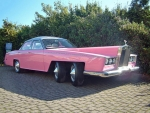 Pink Steampunk  Firebird Car