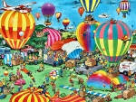 The Balloon Festival F
