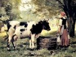 The Milkmaid - Cow F