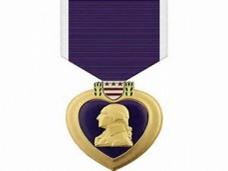 purple heart medal - military, medal, purple, heart