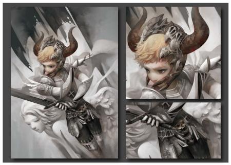 Demon Fantasy Abstract Background Wallpapers On Desktop Nexus