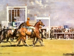 Going Out at Epsom - Horses