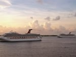 Cruise Ships at Sunrise