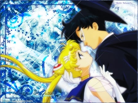 Sailor Moon X Tuxedo Mask - Girls, Sailor, Moon, Anime