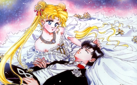 Sailor Moon - Sailor, Girls, Anime, Moon