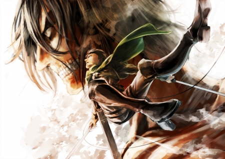 Attack on Titan - Attack, Titan, on, Anime