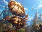 Steampunk Pirate Ship