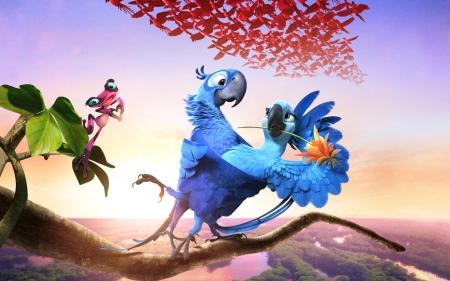 Rio 2 2014 Movies Entertainment Background Wallpapers On Desktop Nexus Image 2285914