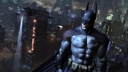 Batman Arkham-City - City, batman, video, game, Arkham