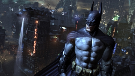 Batman Arkham-City - Arkham, game, batman, video, City