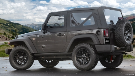 2014 Jeep Wrangler Willys Wheeler Edition - Edition, Car, Wheeler, Willys, Wrangler, Jeep