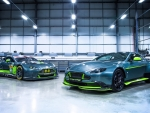 2017 Aston Martin Vantage GT8 and AM V8 Vantage GTE race car