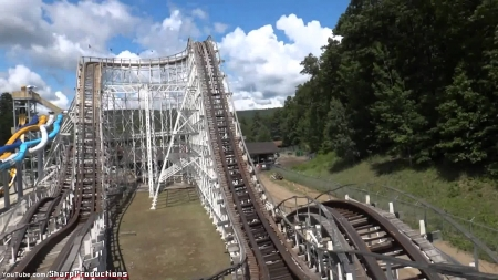 the comet - york, coaster, new, rollor, wooden