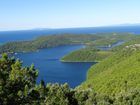 mljet - island, two lakes, croatia, mljet