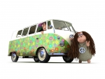 Hippie Van w/Some Cool Dudes 8)