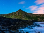 Twilight Rocky Shore