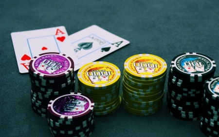 Casino - gambling, poker, casino, poker table
