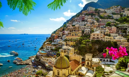 Amalfi Coast Campania Italy Other Nature Background