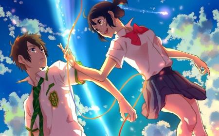 Kimi No Na Wa Other Anime Background Wallpapers On Desktop Nexus Image 2289682