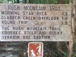 Rush Mountain Trail