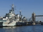WORLD OF WARSHIPS  HMS Belfast Former Royal Navy Cruiser