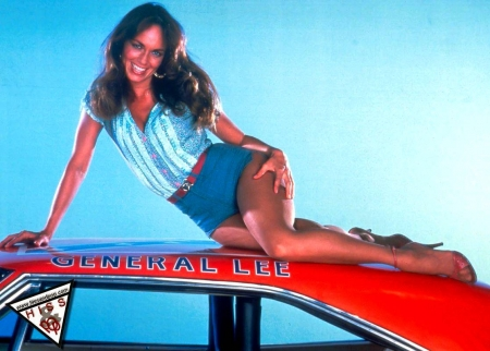 Catherine Bach For Marco_Ghostly - Charger, Beauty, Smile, Blue Sky, Hot, Actress