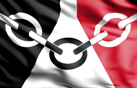Black Country Flag - dudley, Industrial Revolution, history, iron foundries, The Black Country Flag, birmingham, wolverhampton, locksmiths, museum, wolves, wwfc, england, tipton, west midlands