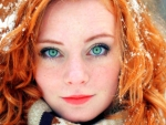 Model--With--Red-Hair-And-Green-Eyes